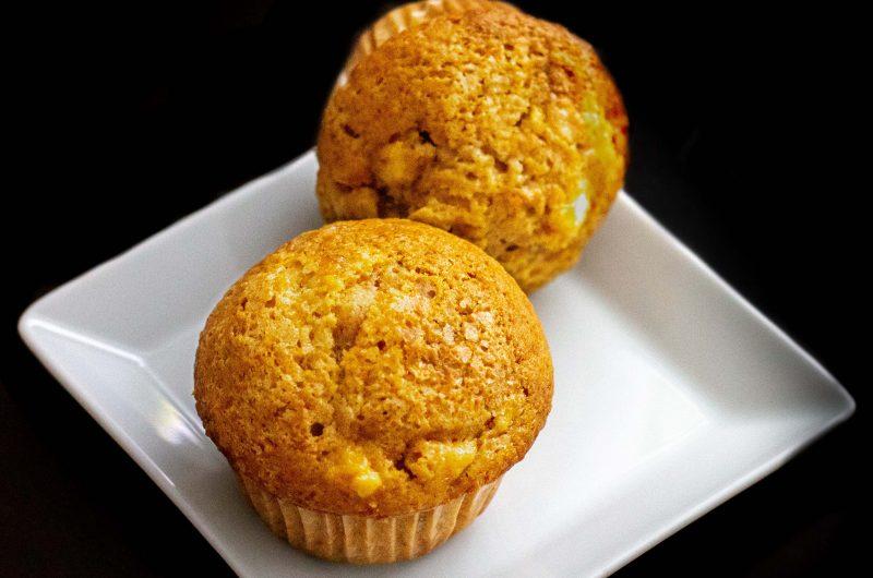 Almás, fahéjas muffin