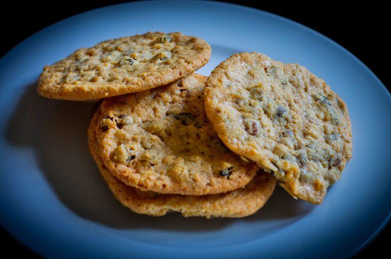 Mazsolás teasütemény, hogy magyarul írjam, de amúgy ez az egyik cookie fajta, ahogy mindenki ismeri a világban